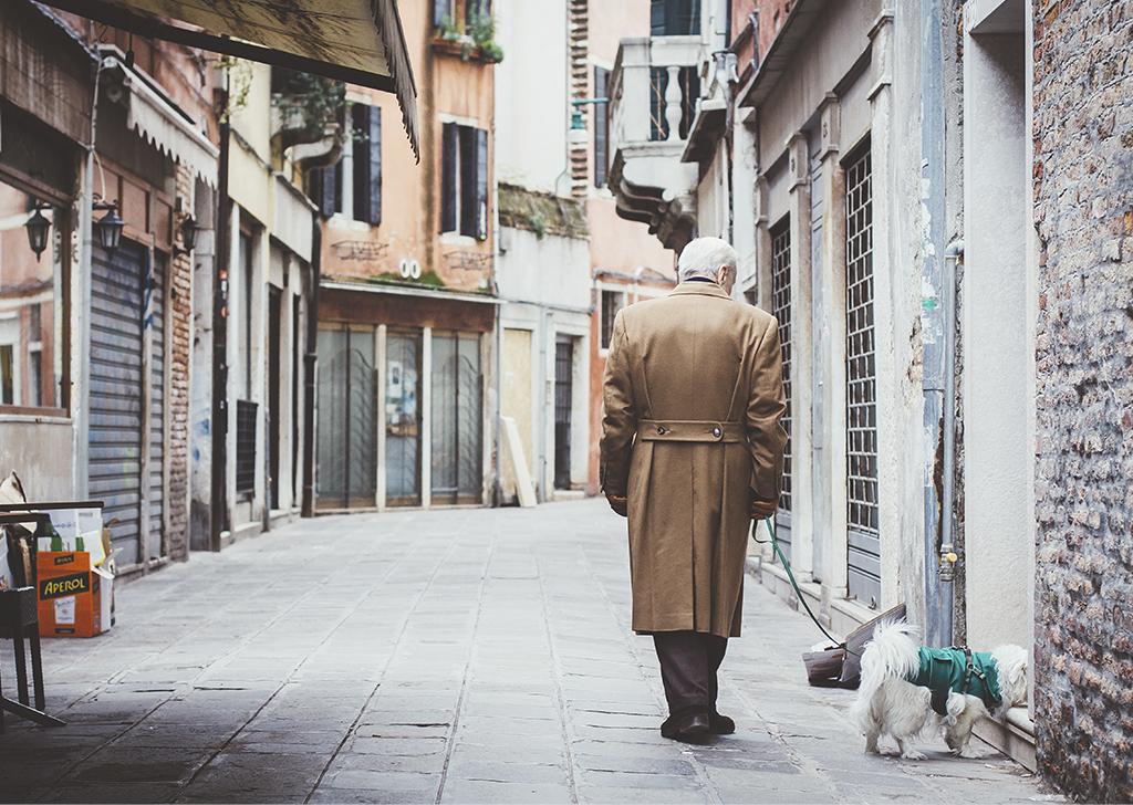 Los animales, grandes compañeros para las personas mayores