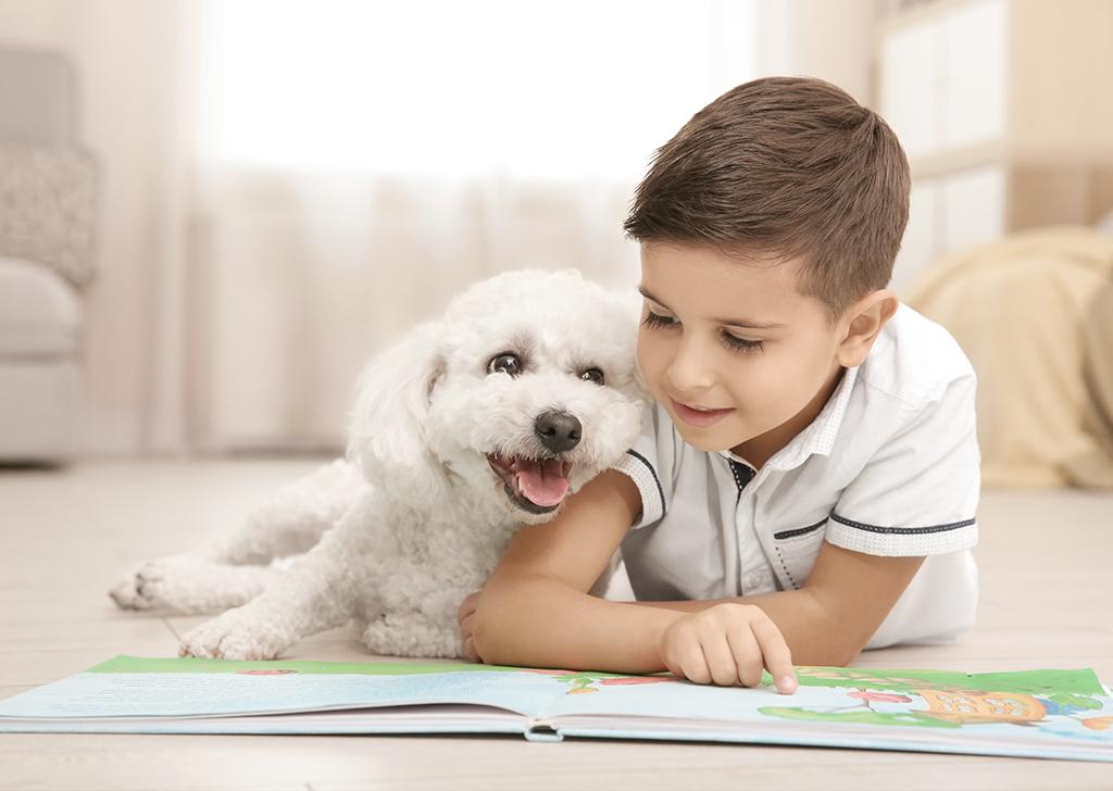 Niños y animales, una relación llena de beneficios